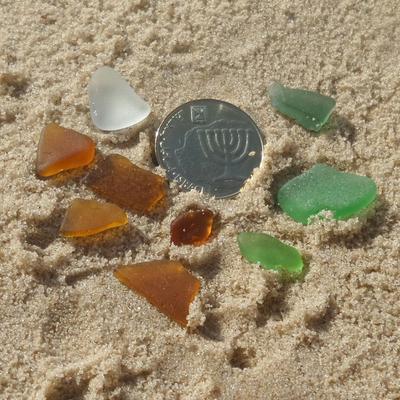 Mediterranean Greece Israel Sea Glass