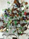 9/3/2012 Perkins Beach, Cleveland, Ohio beach glass...my first catch!