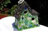 Sea Glass Birdhouse