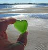 My Heart is on PEI - Sea Glass