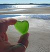 My Heart is on PEI - Sea Glass