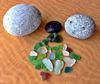Sea Glass found at Pacific Beach, San Diego, CA, USA