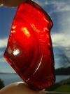 Red On Fire - February 2015 Sea Glass Photo Contest