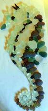 Sea Glass Seahorse Craft