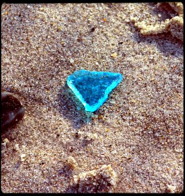 Treasure on Secret Beach - Sea Glass Photo Contest