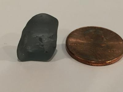 Is this true grey sea glass or something else?
