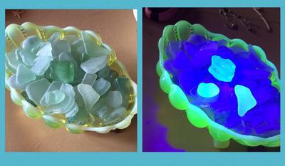 Sea Glass Found on the Oregon Coast