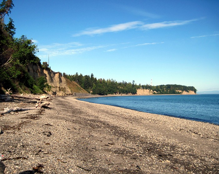 Old Gully Now Landfill - Beach View