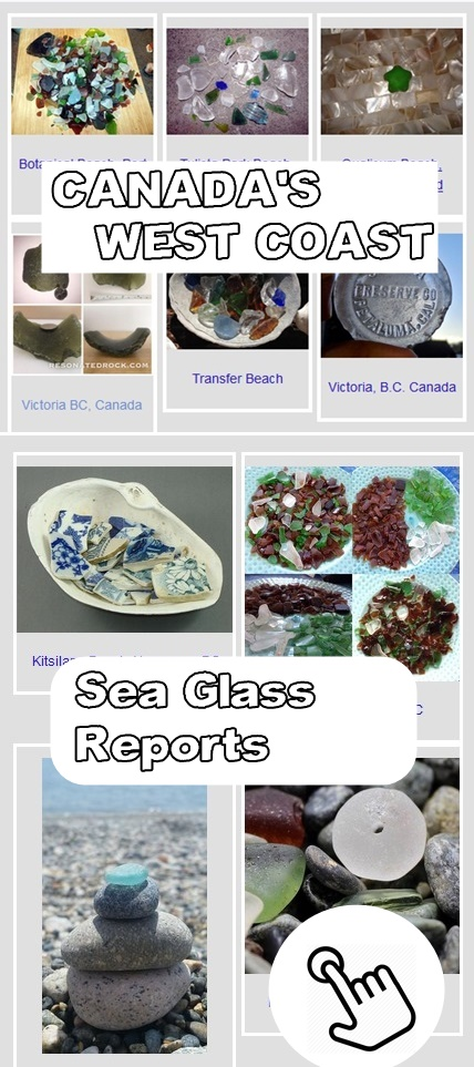 sea glass reports canada west coats