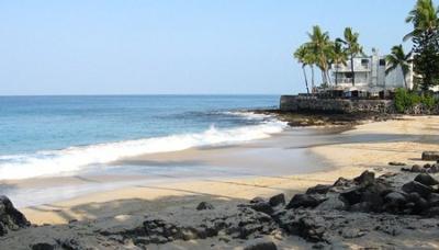 White Sands Beach (Disappearing Sands) Kailua-Kona, Big Island HI