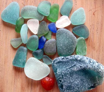 Punta Sal Sea Glass Peru