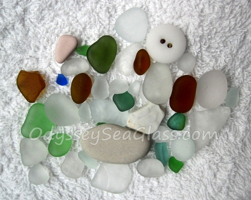 Huanchaco Sea Glass