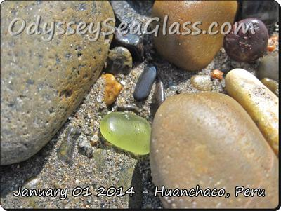 Sea Glass Catch of the Day - Citron kind of?