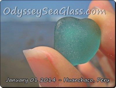 Huanchaco Peru Beach Glass of the sea