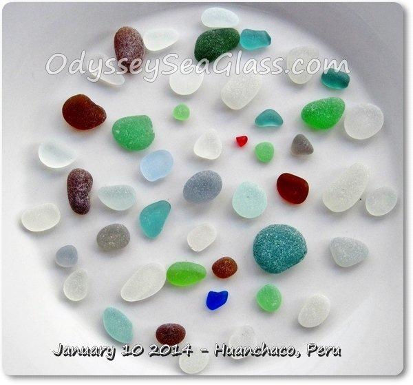 sea glass huanchaco catch jan 10 2014