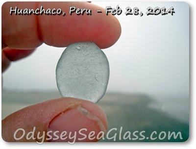blue sea glass