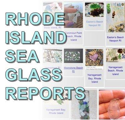 Rhode Island Sea Glass Reports