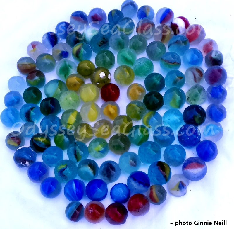 Jamaica Sea Glass Beach Marbles