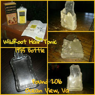 Wildroot Hair Oil Tonic Bottle