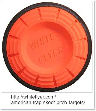 skeet clay pidgeon target