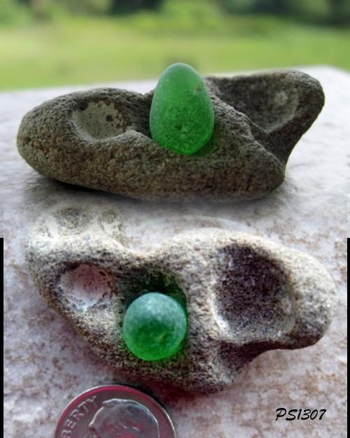 Green Jewelry Grade Sea Glass