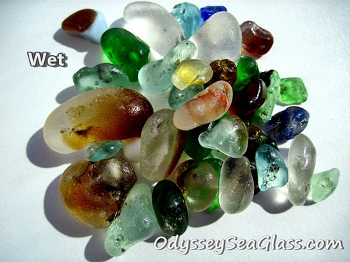 Fire Melt Bonfirel Sea Glass