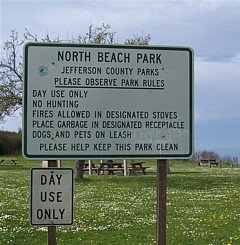 North Beach County Park - the fun starts