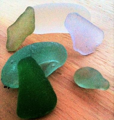 Sea Glass from Islands off of Rockland, Maine