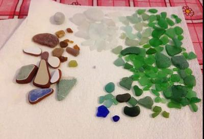 Algarrobo Sea Glass, Spain