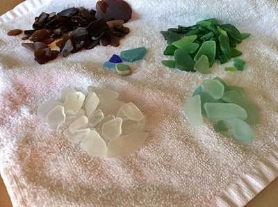 Crystal Cove State Park Beach -  Beach - Sea Glass Report