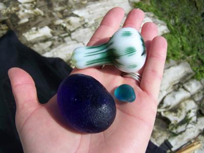Santa Cruz Sea Glass treasure!