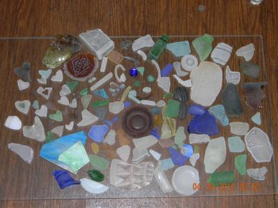 April Finds - May 2012 Sea Glass Photo Contest