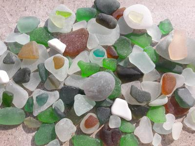 Trieste, Italy Sea Glass Finds