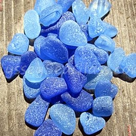 Blue Sea Glass Link