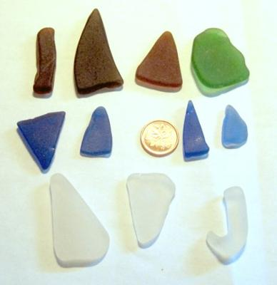 Cap Lumiere New Brunswick Sea Glass