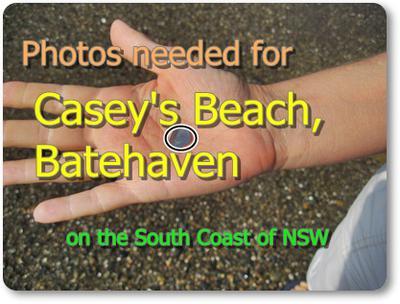 Lin needs Photos of Sea Glass for this beach