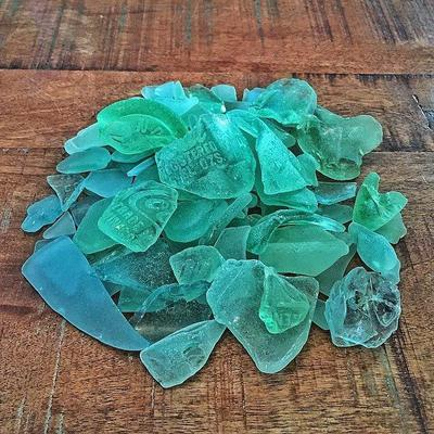 Coca Cola sea glass