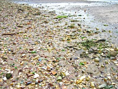 Gross and beautiful - Dead Horse Bay, New York - Sea Glass Report