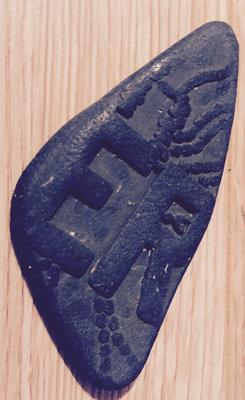 Found on a Dorset Beach - what is it a fragment of?