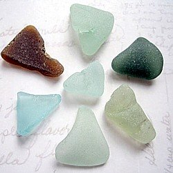 Edinburgh Scotland sea glass