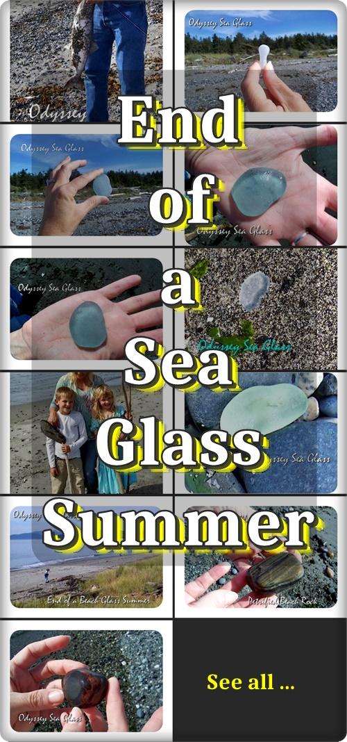 summer beach sea glass
