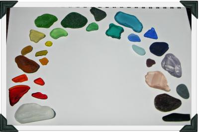 Enigmatic Rainbow - August 2013 Sea Glass Photo Contest