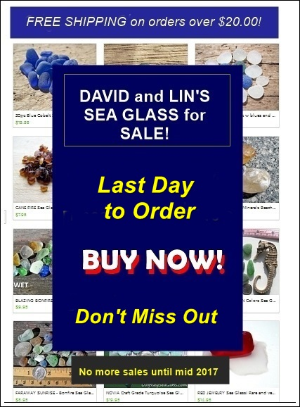 Sea Glass Sale BUY NOW!