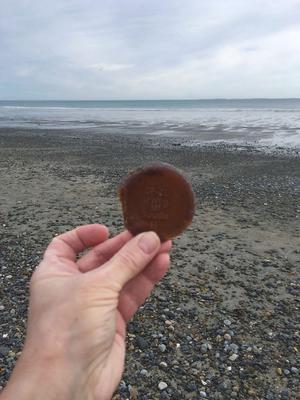 Hampton New Hampshire Sea Glass Find