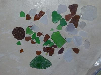 Michigan - Beach Glass Catch of the Day!