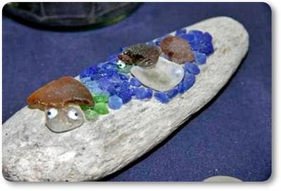Fun Kids Sea Glass Project