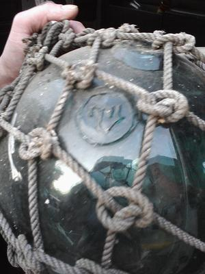Identify this glass fishing float?
