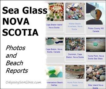 sea glass nova scotia reports and photos