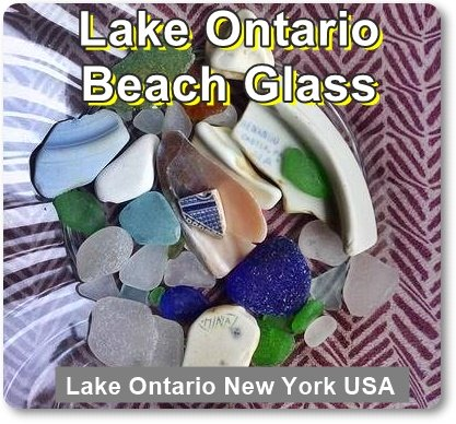 Lake Ontario Beach Glass