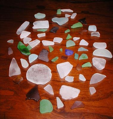 Hatteras Island Sea Glass Photo